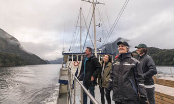 Doubtful Sound Overnight Cruise and Coach from Manapouri Thumbnail 4