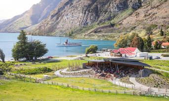 TSS Earnslaw Cruise and Walter Peak Gourmet BBQ Lunch Thumbnail 3