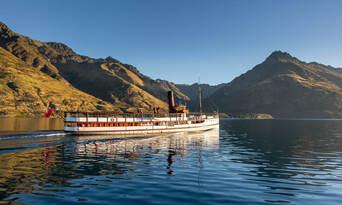 TSS Earnslaw Cruise and Walter Peak Gourmet BBQ Lunch Thumbnail 4