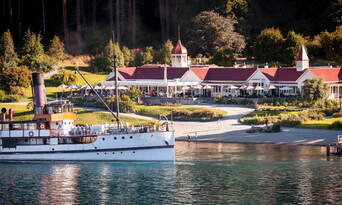 TSS Earnslaw Cruise and Walter Peak Gourmet BBQ Lunch Thumbnail 6