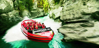Nevis Bungy Jetboat Helicopter and Raft Package Thumbnail 4