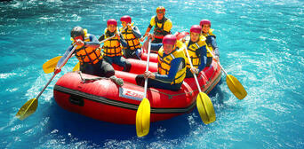 Nevis Bungy Jetboat Helicopter and Raft Package Thumbnail 6