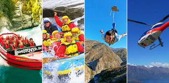 Nevis Bungy Jetboat Helicopter and Raft Package Thumbnail 1