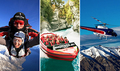 Skydive, Shotover Jetboat, Helicopter and Rafting Combo Queenstown Thumbnail 1