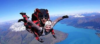 Queenstown Shotover Skydive Shotover Jet and Rafting Package Thumbnail 3
