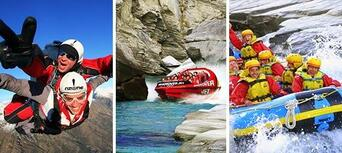 Queenstown Shotover Skydive Shotover Jet and Rafting Package Thumbnail 1