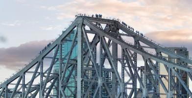 Brisbane Story Bridge Climb at Dawn