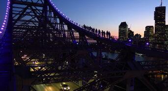 Brisbane Story Bridge Twilight Climb Thumbnail 1