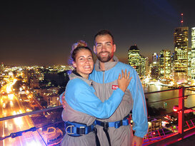 Brisbane Story Bridge Night Climb Thumbnail 4