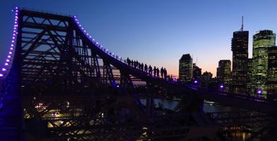 Brisbane Story Bridge Night Climb