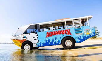 Aquaduck Gold Coast City Tour and River Cruise Thumbnail 1