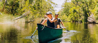 Cruise'n'Canoe Noosa Everglades Ecosafari Thumbnail 1