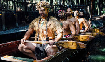 Tamaki Maori Cultural Experience with 3 Course Dinner Thumbnail 4