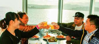 Lake Rotorua 1 Hour Breakfast Cruise Thumbnail 2