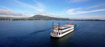 Lake Rotorua 1 Hour Breakfast Cruise Thumbnail 1
