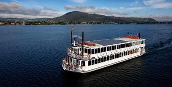Lake Rotorua 1 Hour Breakfast Cruise Thumbnail 4
