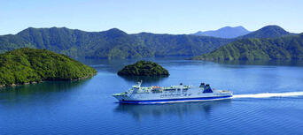 Interislander Ferry between Wellington and Picton for Passengers Thumbnail 1