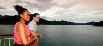 Interislander Ferry between Wellington and Picton for Passengers Thumbnail 3