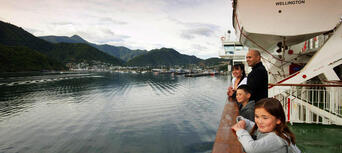 Interislander Ferry between Wellington and Picton for Passengers Thumbnail 4