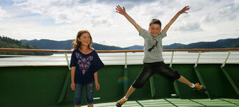 Interislander Ferry between Wellington and Picton for Passengers Thumbnail 5