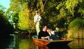 Punting on the Avon River, Christchurch Thumbnail 1