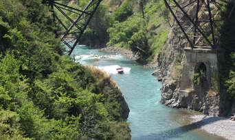 Jet Boating in Waiau Gorge Thumbnail 4