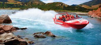 Jet Boating in Waiau Gorge Thumbnail 1