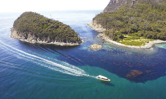 Bruny Island Wilderness Cruise and Bus Transfer from Hobart Thumbnail 1