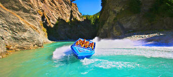 Skippers Canyon Tour with Jet Boat Ride Thumbnail 1