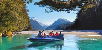 Dart River Jet Boat and 4WD Wilderness Safari Thumbnail 1