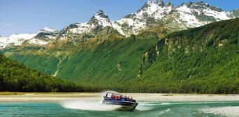 Dart River Jet Boat and 4WD Wilderness Safari Thumbnail 3