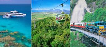 Great Barrier Reef and Kuranda Rainforest 2 Day Package Thumbnail 1