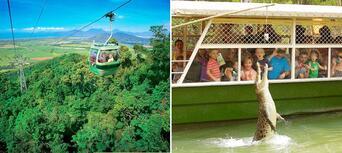 Kuranda Skyrail, Scenic Railway and Hartleys Crocodile Adventures Tour Thumbnail 1