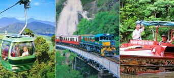 Kuranda Skyrail, Scenic Railway and Rainforestation Day Tour Thumbnail 1