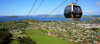 Skyline Gondola Te Puia and Polynesian Spa Pass Thumbnail 1