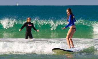 Surfers Paradise Surfing Lessons Thumbnail 1