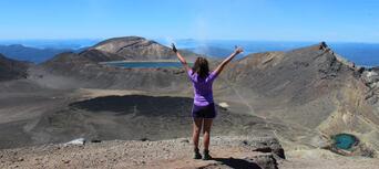 Tongariro Crossing Guided Day Walk Thumbnail 6