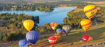 Canberra Hot Air Balloon Flight Thumbnail 2