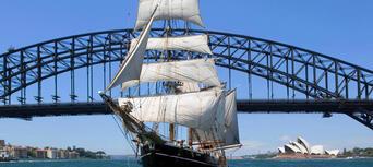 Sydney Harbour Lunch Cruise on a Sydney Tall Ship Thumbnail 1