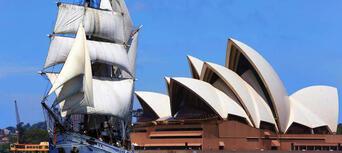 Sydney Harbour Lunch Cruise on a Sydney Tall Ship Thumbnail 2