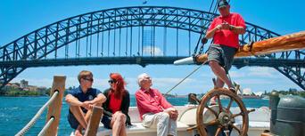 Sydney Harbour Lunch Cruise on a Sydney Tall Ship Thumbnail 3
