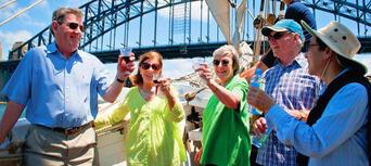 Sydney Harbour Lunch Cruise on a Sydney Tall Ship Thumbnail 4