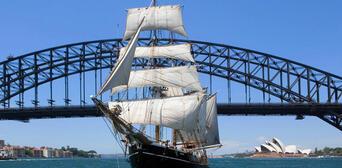 Sydney Harbour Twilight Dinner Tall Ship Cruise Thumbnail 2