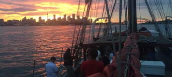 Sydney Harbour Twilight Dinner Tall Ship Cruise Thumbnail 5