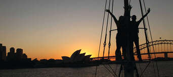 Sydney Harbour Wine and Canapes Tall Ship Cruise Thumbnail 2