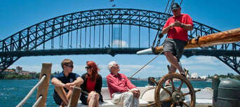 Sydney Harbour Wine and Canapes Tall Ship Cruise Thumbnail 3