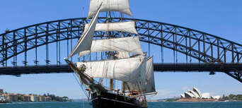Sydney Harbour Wine and Canapes Tall Ship Cruise Thumbnail 6