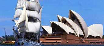 Sydney Harbour Wine and Canapes Tall Ship Cruise Thumbnail 1