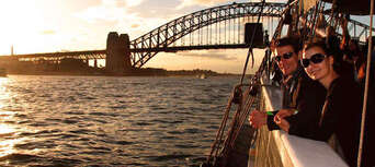Sydney Harbour Wine and Canapes Tall Ship Cruise Thumbnail 5