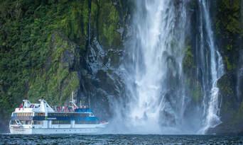 Milford Sound Cruise departing Milford Thumbnail 1